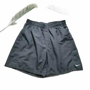 Nike Swim Grey Pocket Swim Trunks Size L